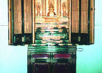 """Butsudan"", altar familiar budista"