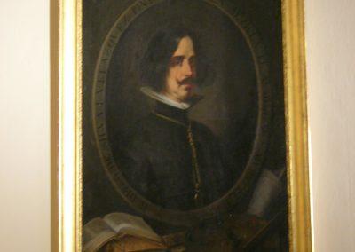 Retrato de Velazquez, José Roldán