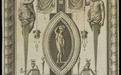 """""""Exposición Calcográfica. Homenaje a Murillo. Grabados de las Logias de Rafael en el Vaticano""""."""
